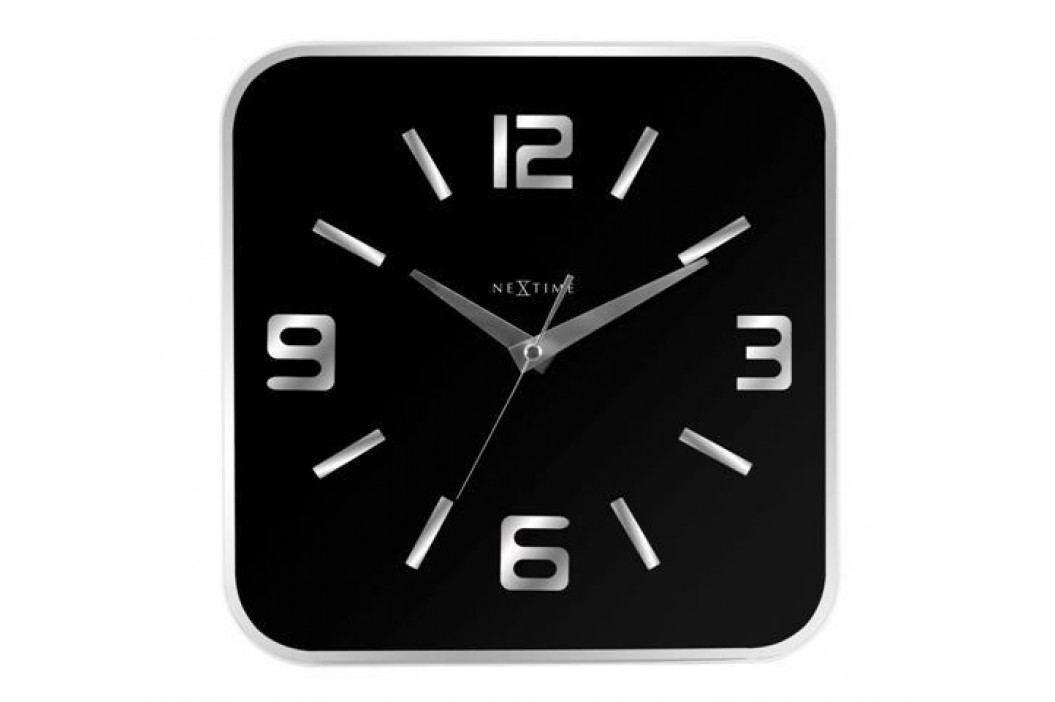 Designové nástěnné hodiny 8149zw Nextime Shoko 43cm