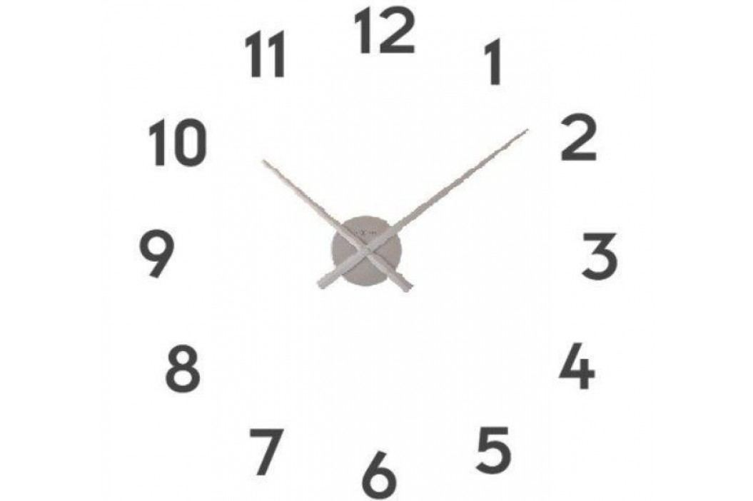 Designové nástěnné hodiny 3074zi Nextime Small hands 48cm