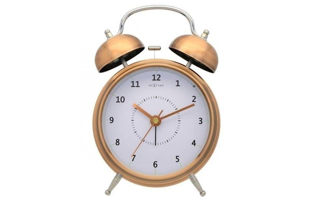 Designový budík 5112co Nextime Wake Up 21cm