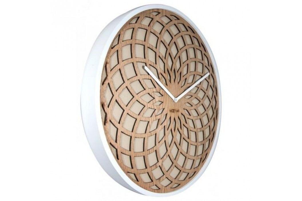 Designové nástěnné hodiny 3149be Nextime Sun Big 50cm