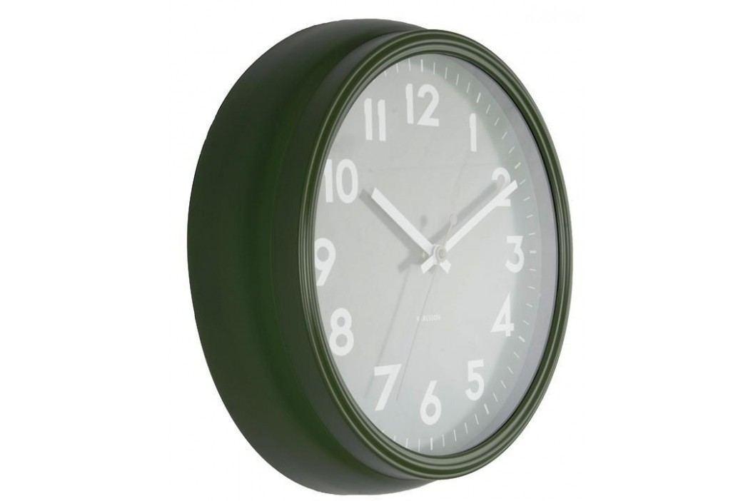 Designové nástěnné hodiny 5610GR Karlsson 38cm