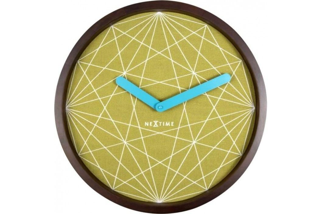 Designové nástěnné hodiny 3204 Nextime Calmer 40cm