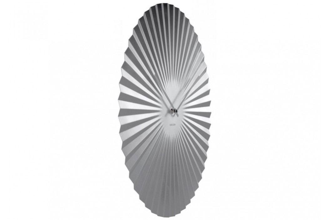 Designové nástěnné hodiny 5657SI Karlsson 40cm
