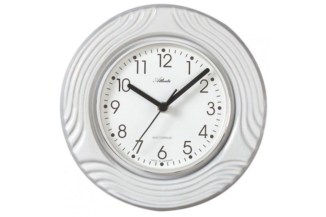 Designové nástěnné keramické hodiny AT6021 řízené signálem DCF