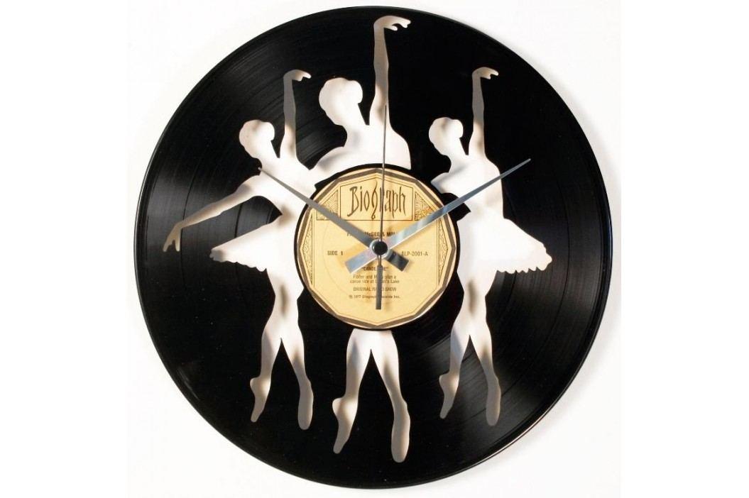 Designové nástěnné hodiny Discoclock 097 Baletky 30cm