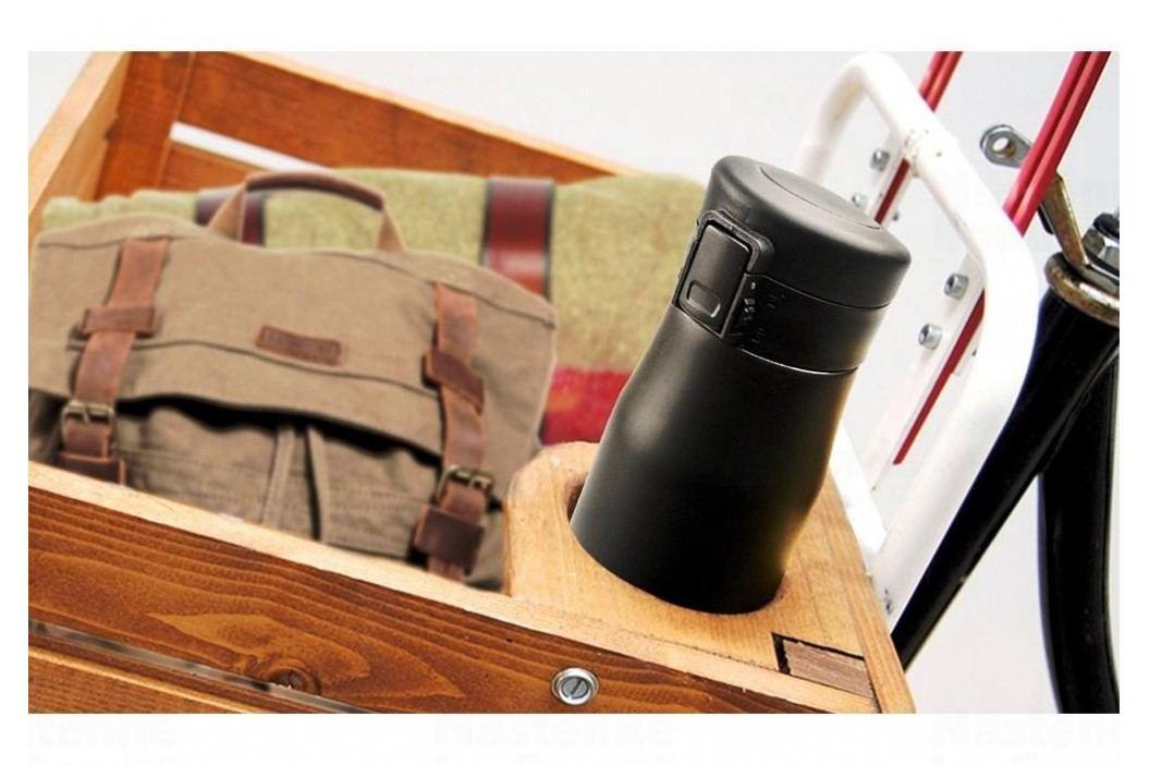 ASOBU cestovní termoláhev Liberty black-silver 500ml