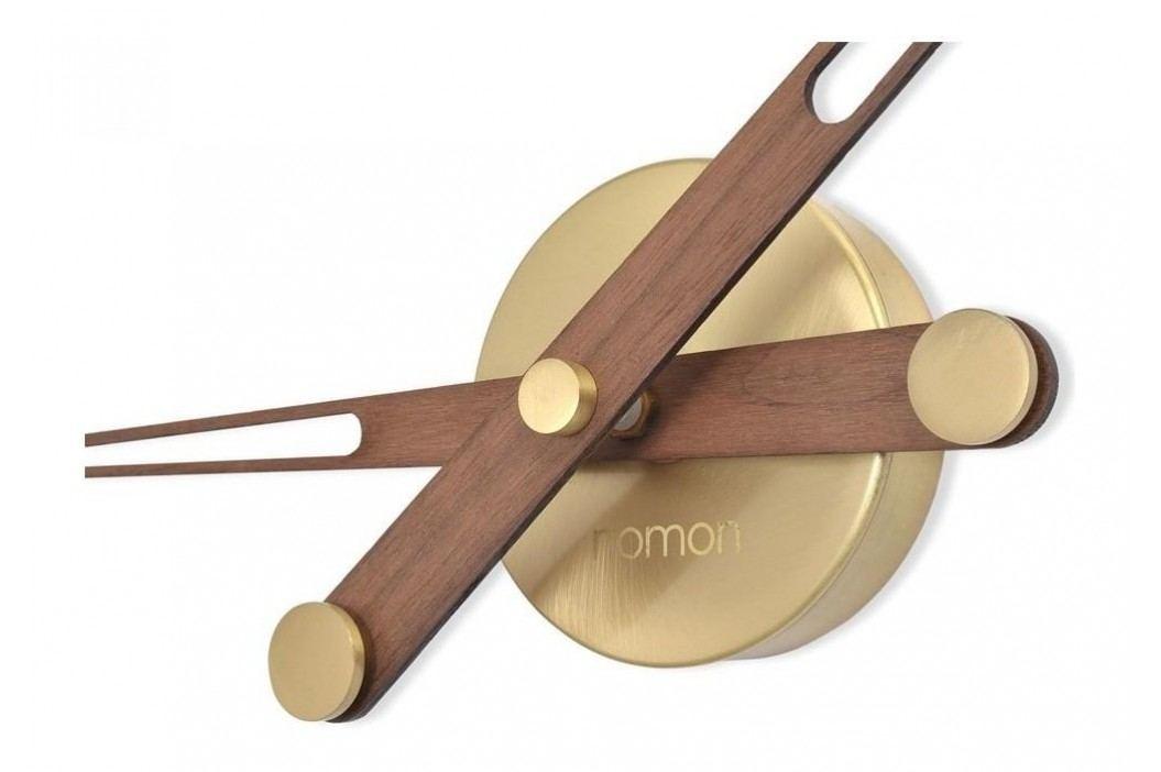 Designové nástěnné hodiny Nomon AxiomaNG Gold 105cm