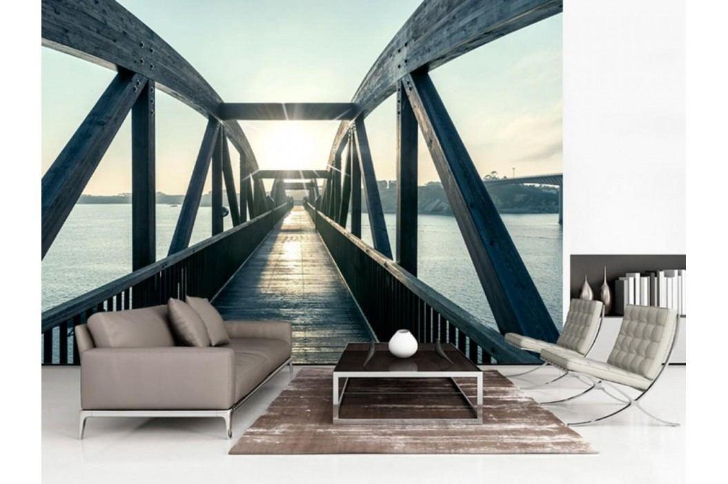 Murando DeLuxe Most nad řekou II. 150x105 cm