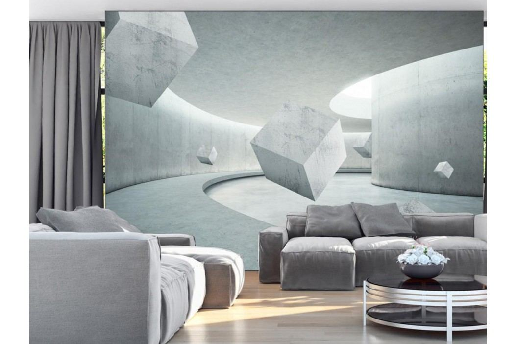 Murando DeLuxe Geometrická hra 150x105 cm