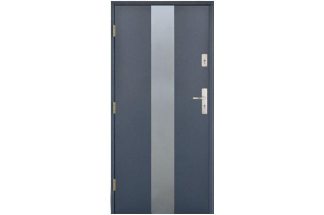 Dveře vchodové Thermika Centro P s aplikací