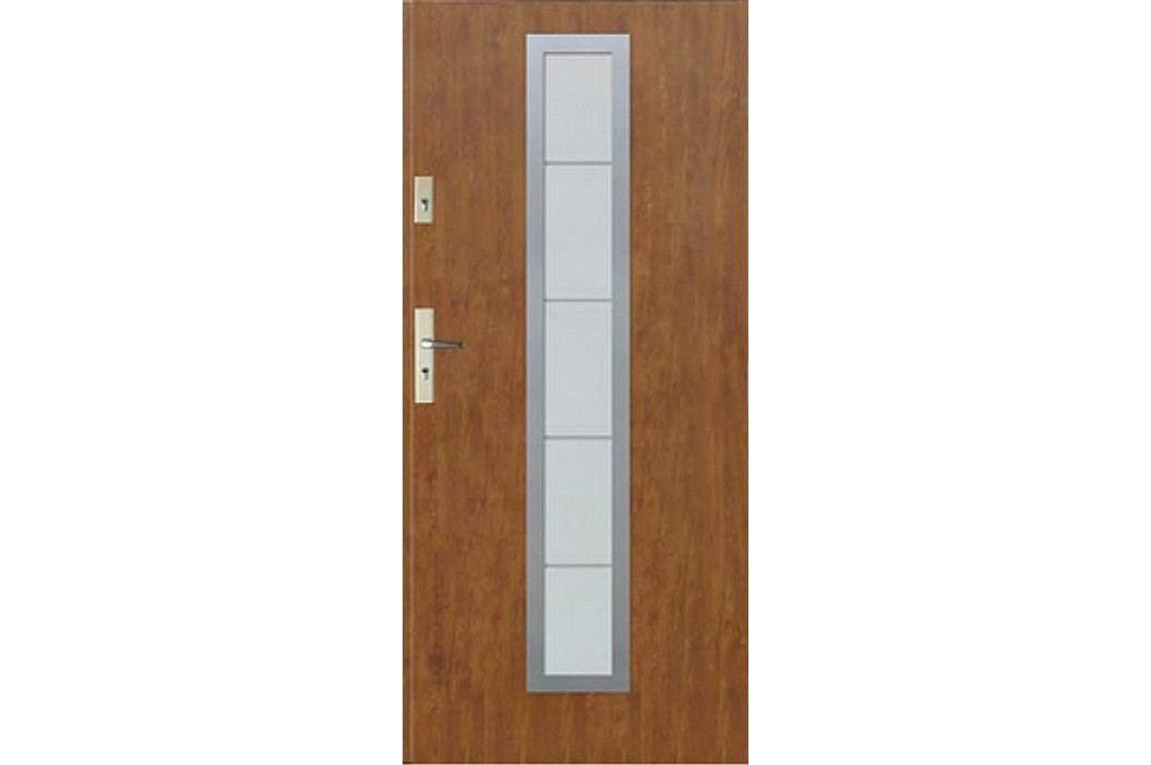 Dveře Thermika Correra s vitráží