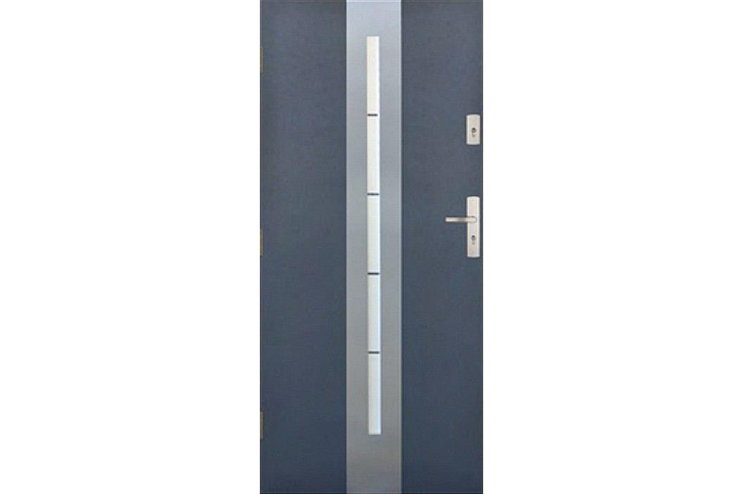 Dveře Thermika Centro s vitráží