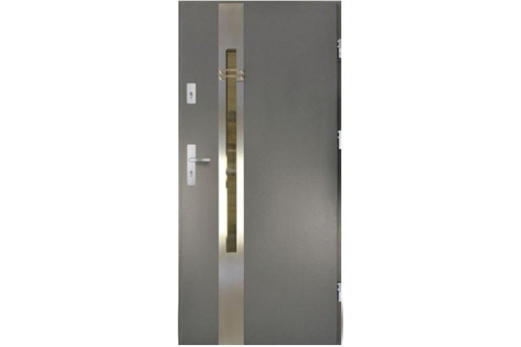 Dveře Thermika Elevado 3D 1 s vitráží