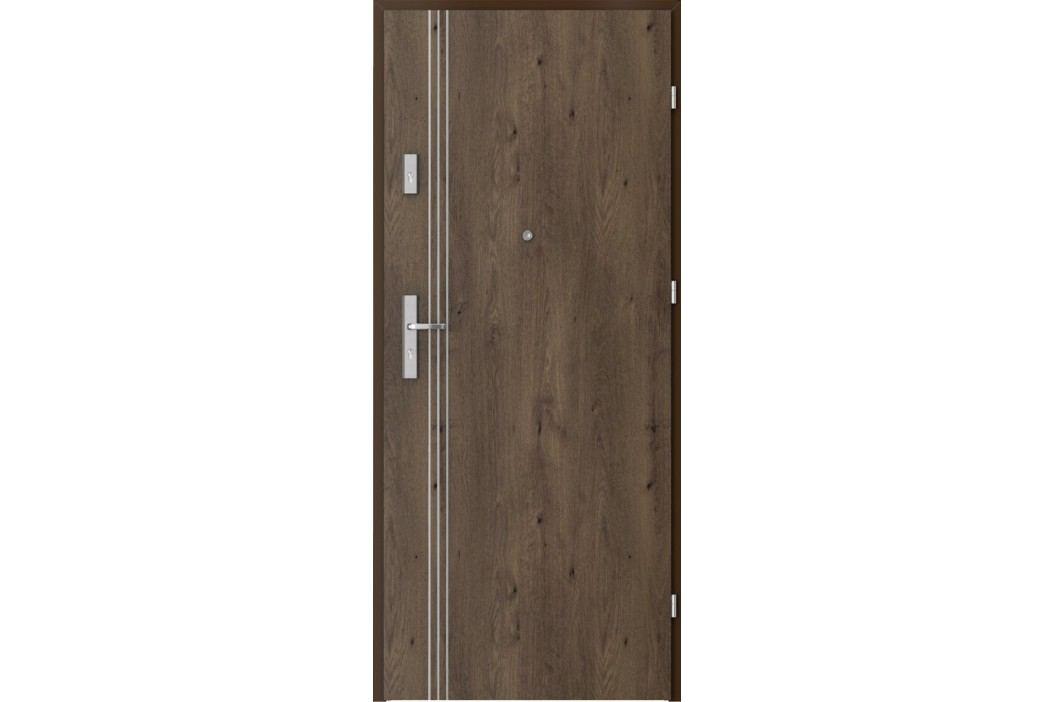 Vstupní dveře Porta Opal Plus frézované model 2