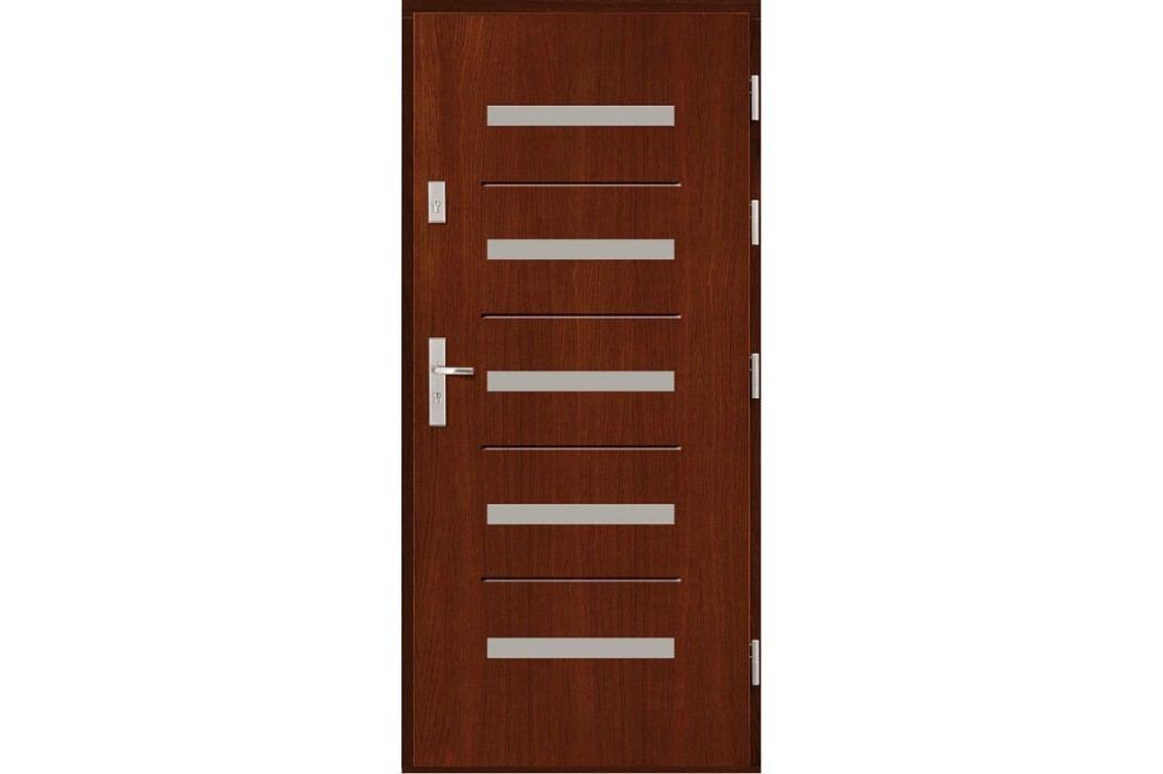 Vchodové dřevěné dveře AGMAR - CANTIO