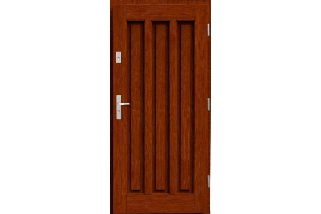 Vchodové dřevěné dveře AGMAR - PABLO