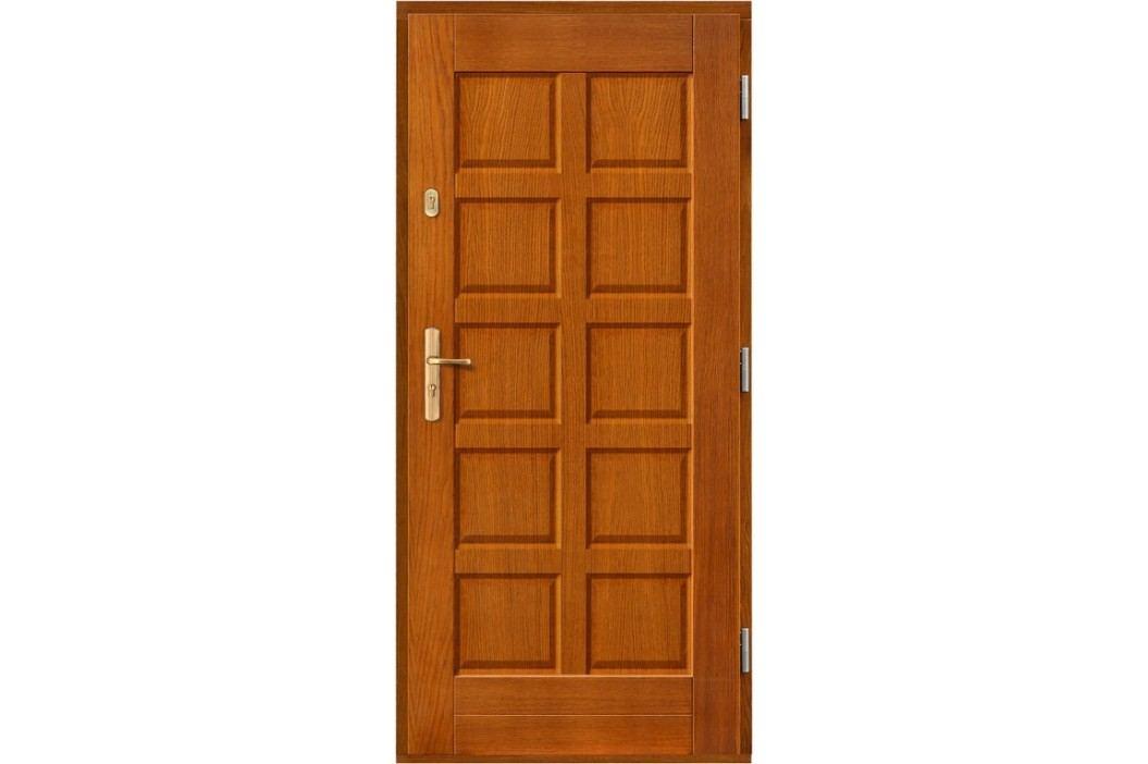 Vchodové dřevěné dveře AGMAR - DEJMOS