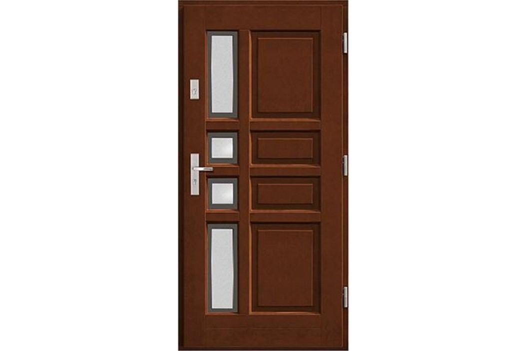 Vchodové dřevěné dveře AGMAR - RUFUS