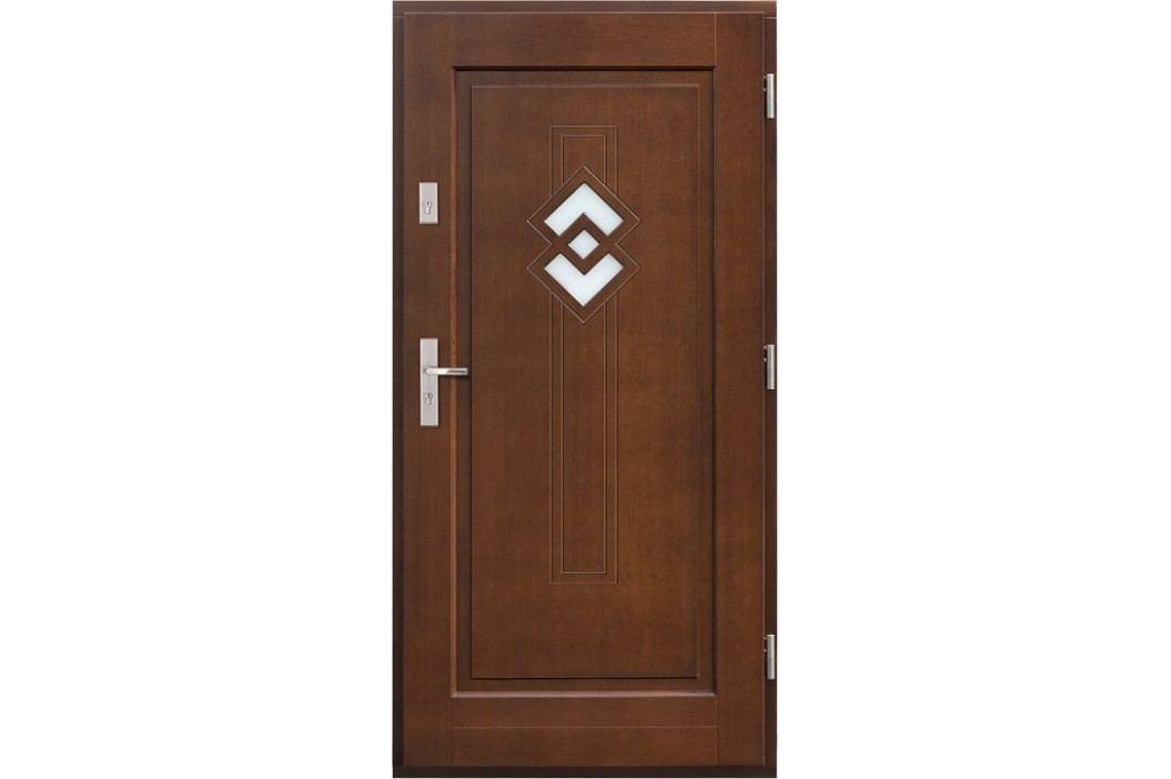 Vchodové dřevěné dveře AGMAR - KONGO
