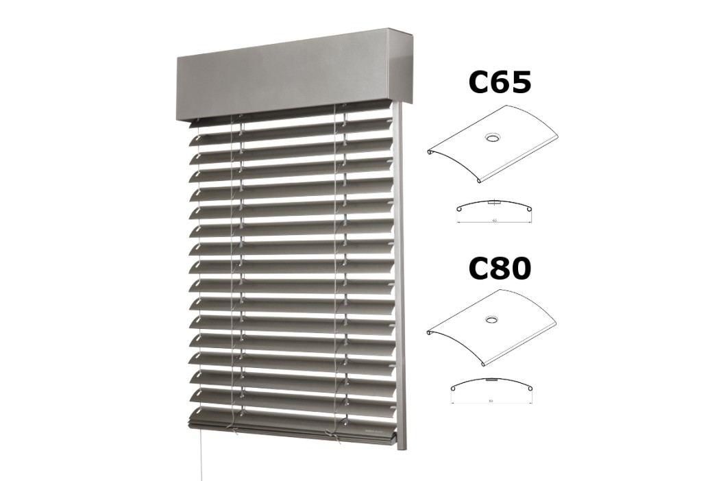 Venkovní žaluzie Cetta - šířka 501-600mm x výška 501-600mm