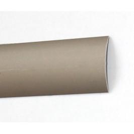 Přechodová podlahová lišta obloučková, 30 mm, barva - titan, 2,7 m