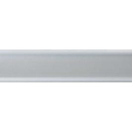 Soklová lišta PVC, Salag, NGF56, Stříbrná