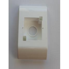 Instalační krabice k soklové liště, SALAG, PVC, Bílá