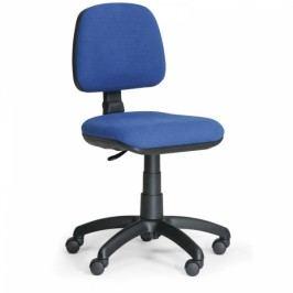 Kancelářská židle Milano bez područek modrá