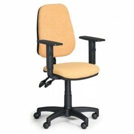 Kancelářské židle Alex s područkami žlutá
