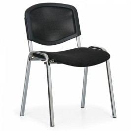 Konferenční židle Viva Mesh chrom černá