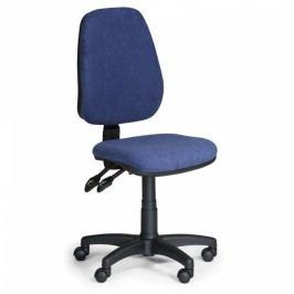 Kancelářské židle Alex bez područek modrá