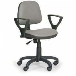 Pracovní židle Milano - permanentní kontakt šedá