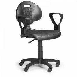 Pracovní židle PUR, permanentní kontakt