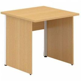 Interier Říčany Alfa 100 stůl kancelářský 100 ořech