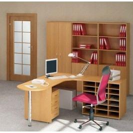 Kancelářský nábytek sestava Impress 2 hruška