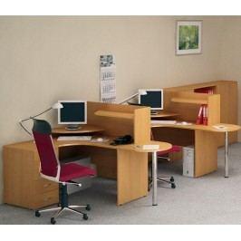 Kancelářský nábytek sestava Impress 3 hruška
