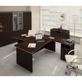 Sestava kancelářského nábytku TopOffice 1 wenge