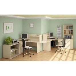 Kancelářský nábytek sestava Impress 8 hruška