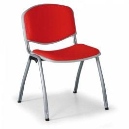 Čalouněná konferenční židle LIVIRNO červená