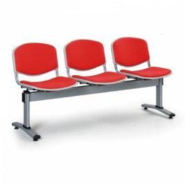 Lavice LIVIRNO - 3 sedák červená