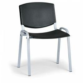 Konferenční židle Design, šedá podnož černá