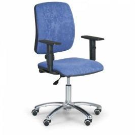 Kancelářská židle Torino II područky T modrá