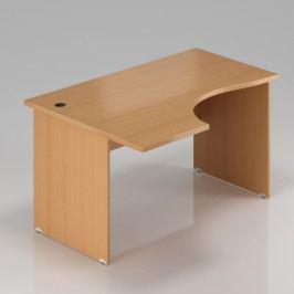 Rauman Ergonomický stůl Visio 160 x 70/100 cm, levý buk