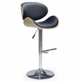 Barová židle Halmar H-44 černá