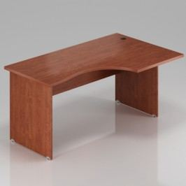 Rauman Ergonomický stůl Visio 180 x 70/100 cm, pravý calvados