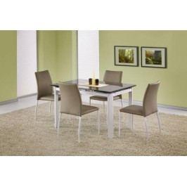 HALMAR Jídelní stůl Alston béžová / bílá