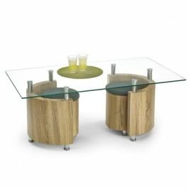 HALMAR Konferenční stolek Angel dub sonoma