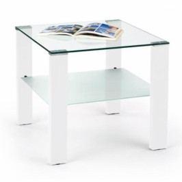 HALMAR Konferenční stolek Simple II bílá
