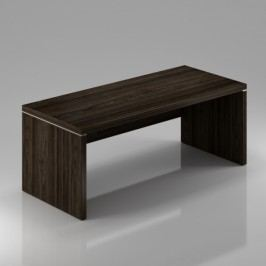 Rauman Stůl Lineart 180 x 85 cm + krycí panel jilm tmavý