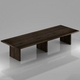 Rauman Konferenční stůl Lineart 400 x 140 cm jilm tmavý
